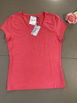 Nieuw! Donkerroze shirt van Brouwer's Mode maat L