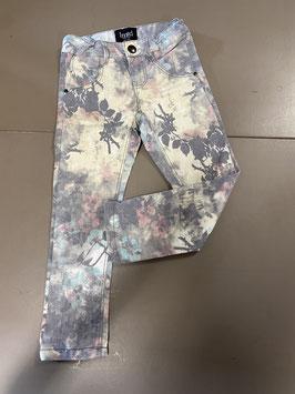 Spijkerbroek met bloemendesign van IMTD Maat 98