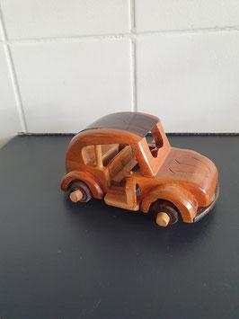 Houten model auto van 13.5 cm