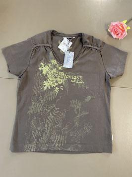 Nieuw! Leuk shirt met print van Brouwer's Mode in maat L