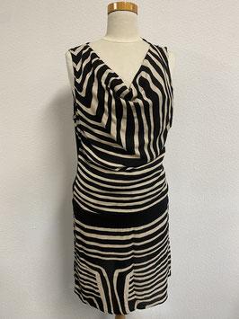 Bijzondere jurk van Comma met zebraprint Maat 40