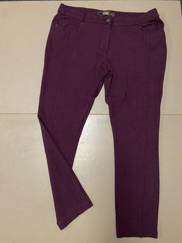 Donkerpaarse broek van Dunnes Stores maat M/44
