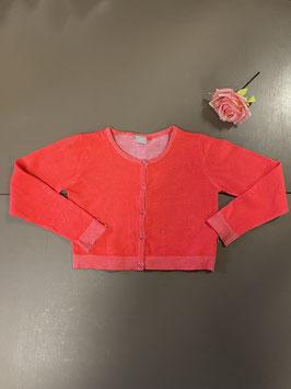 Neon roze vestje van Name it maat 134/140