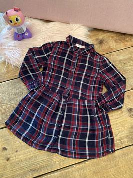 Stoere blousejurk van Frizzle maat 92