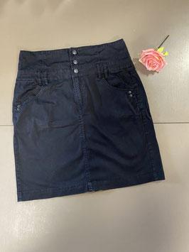 Korte zwarte rok van Jackpot maat 40