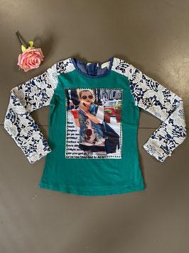 Shirt met lange mouwen van het merk Mini Mignon in de maat 146
