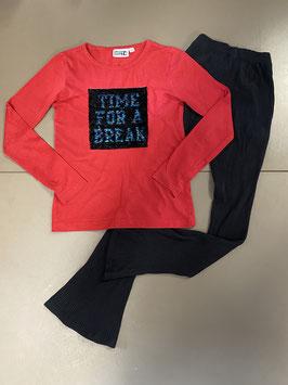Sweatshirt met legging van Bizzy Maat 134