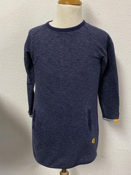 Blauw jurkje van Little Label maat 122/128