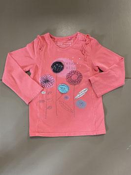 Mooi roze shirt van Carewalk Maat 98