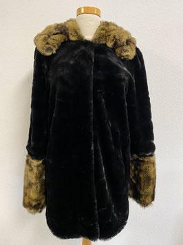 Luxueuze halflange winterjas van Du mallerge Maat XL