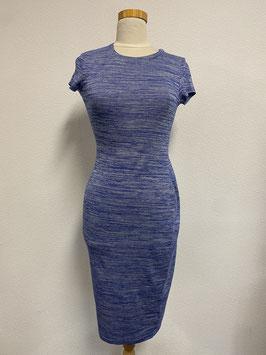 Leuk blauw stretch jurkje van IVIVI maar S/M