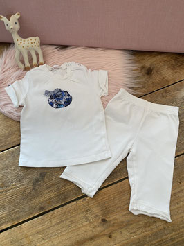 Shirtje en legging van het merk Gymp in maat 80