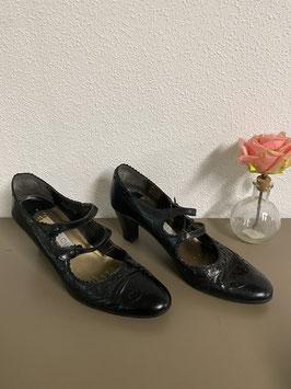 Zwarte tango schoen Maat 39