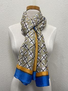 Nieuw: Sjaal met een ketting motief