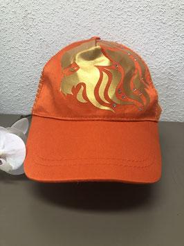 Nieuw: Rojami's -Collector's item - Pet - Oranje met leeuw