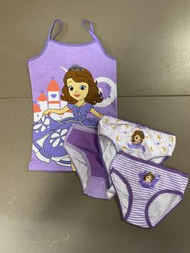 Ondergoed van Princes Sofia van Disney Maat 110