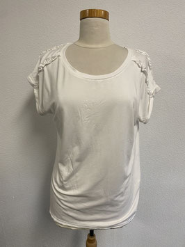Wit shirt van goede kwaliteit maat M