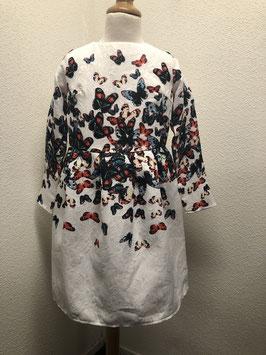 Mooie jurk met vlinders van FashionClassic maat 158/164
