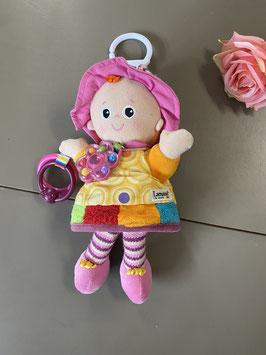 Vrolijke pop met mooie kleuren van Lamaze