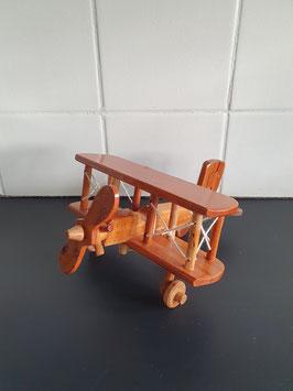 Houten model vliegtuig van 20 cm