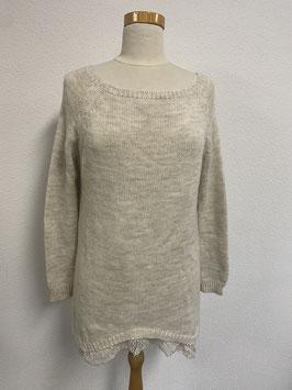 Leuke beige trui van Typical Jill maat XL