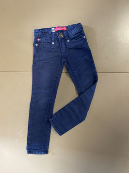 Stoere blauwe broek van Blue Rebel Maat 98