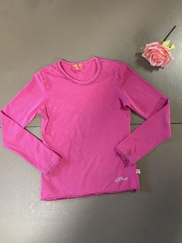 Roze longsleeve van Mim-Pi in maat 140
