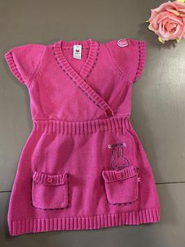 Roze Nijntje jurkje in maat 80