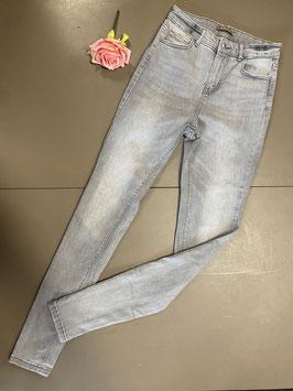 Grijze stretch broek van DenimCo maat 38