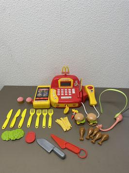 McDonald's kassa met accessoires