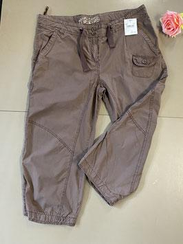 Nieuw! Bruine driekwart broek van Brouwer's Mode maat 44