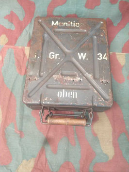 Cassetta proiettili da Mortaio Tedesca - ww2 (#s)