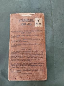 occhiali US anti gas 1943 marchio - ww2 (##)