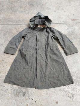Cappotto Italiano RSI mod. 1940 con cappuccio marchio - ww2
