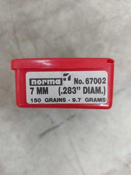 Ogive 7mm - .283 - 150 grani - 9.7 gr. - n. 100 (##)