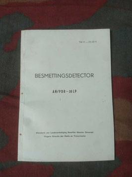 Libretto istruzioni Contatore Geiger AN PDR 30LP - Rilevatore di radioattività (#1)