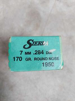 Ogive 7mm - .284 - 170 gr. - n. 100 (##)