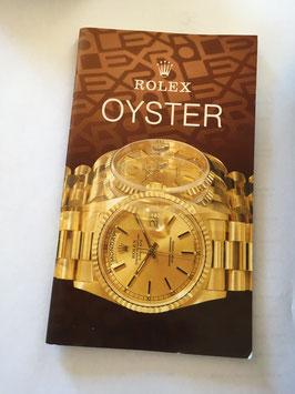 Libretto Rolex 130.02  1991