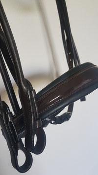 (Foto nur Beispiel) NEU - PERFECTION Kandare mit High Comfort Genickstück - Unterlegung und Variante mit oder ohne Lack einfach auswählen!