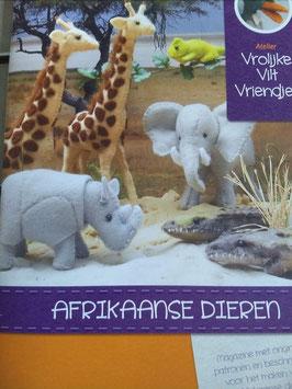 Afrikaanse dieren deel 1
