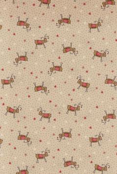 Reindeer, Scandinavian Christmas, Lynette Anderson, Lecien 08099550720