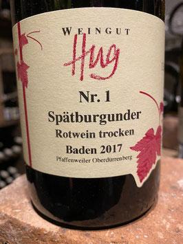Spätburgunder  - Baden  - 2017 - Weingut Hug- 0,75l