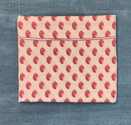 Nähpaket Bluse rosa rot silber Muschel