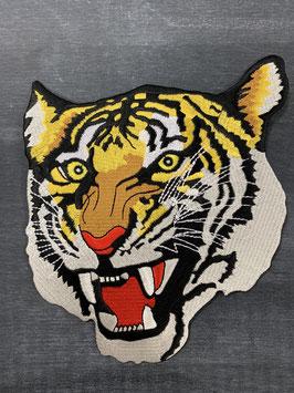 Bügelmotiv 'Tigerkopf groß'