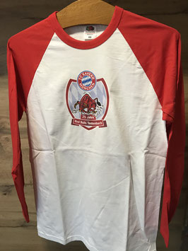 Red Bulls Taubenbach Longsleeve 25 Jahre Jubiläum / in Weiß/Rot