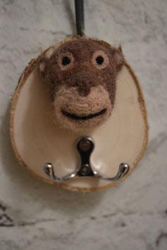 Schlüsselbrett Affe