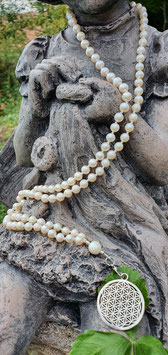 Lebensmala weisse Perle