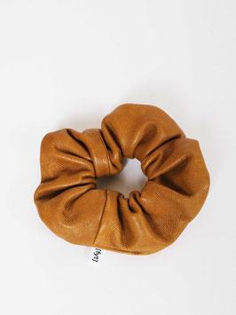 reworked scrunchie leather