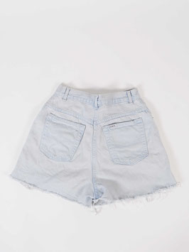 highwaist denim shorts lighgtblue