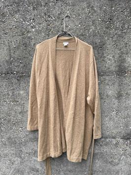 cashmere cardigan light brown